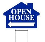 Realtor open house signs wire stand