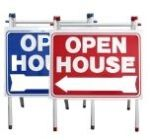Realtor open house signs PVC