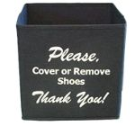 house shoe cover holder